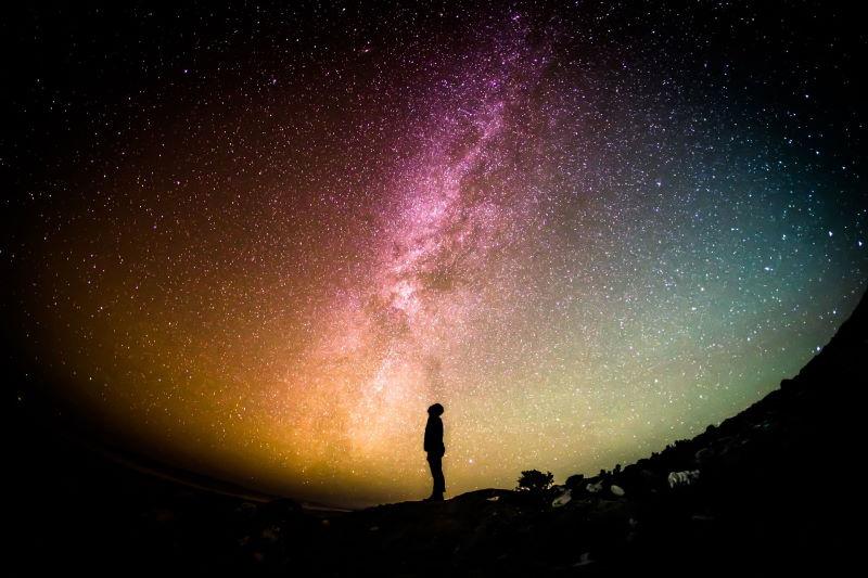 Milky Way artistic